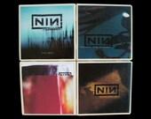 Nine Inch Nails Coaster Set