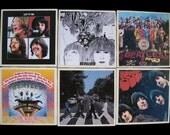 The Beatles Coaster Set