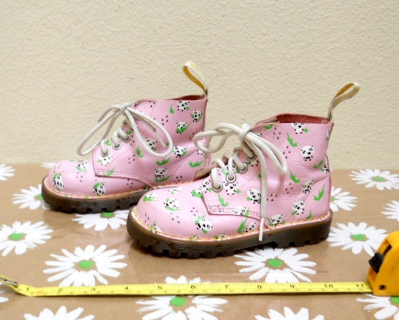 Vintage kids doc martens girls dr martens pink by vintagefriends