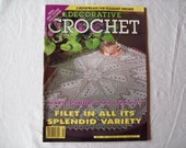 Decorative Crochet Magazine, May 1995 num. 45 Crochet Pattern Book, Thread, Doilies, Doily Patterns, Thread Crochet patterns