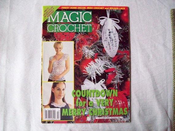 Magic Crochet Magazine : Magic Crochet Magazine-October 2003 issue 146, Crochet Pattern Booklet ...