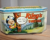 Vintage British Columbia Centennial Tin 1858 to 1958