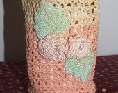 Vintage Crocheted Pouch or Purse