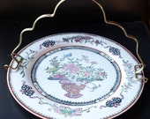 Antique Silverplate Carrier for Serving Plate