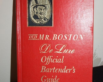 Vintage Mr. Boston Bartender's Guide