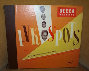 Retro Ink Spots Record Album