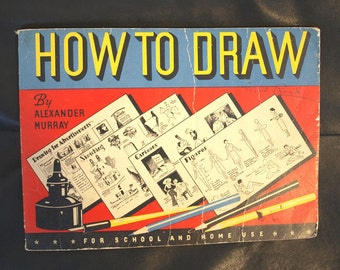 Vintage Drawing Instructional Book