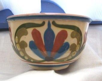 Vintage Torquay Scandy Mottoware Bowl