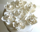 Edible Sugar Gardenia Blossoms 8