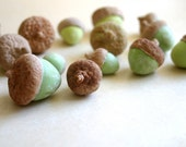 Edible Chocolate Cocoa Bean Candy Acorns 12 Unique Decorative Candy
