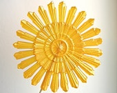 Pinwheel Crystal Lollipops - 3 - You Are My Sunshine, Art Deco, Mid Century Fun - as seen in Martha Stewart Weddings
