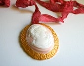Candy Vintage Inspired Cameo Necklace 5