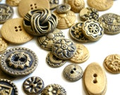 Edible Chocolate Candy Brass Buttons (Antique Inspired)  Order of 50