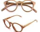 handmade round vintage bamboo  eyeglasses  sunglasses 1104 c01