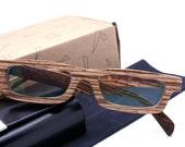 LOVE-WOOD handmade zebra wood wooden eyeglasses glasses frame