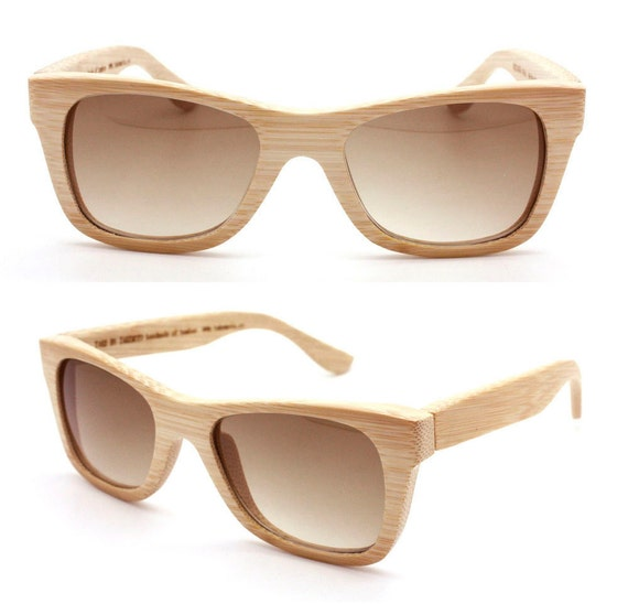 handmade bamboo brown  sunglasses 1055 c01