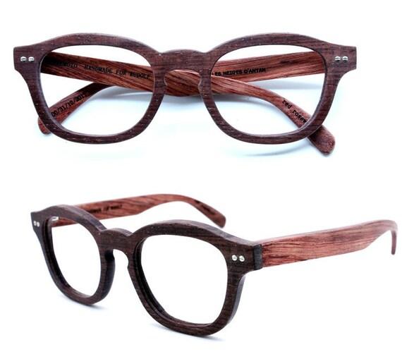 handmade  vintage red rosewood  wooden eyeglasses 1103