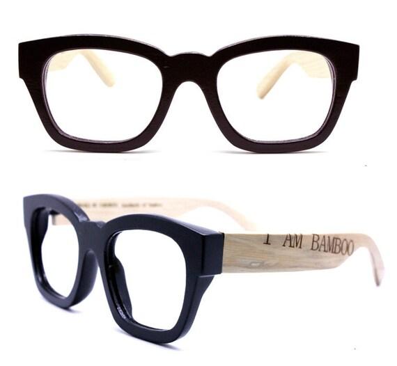 FOR EARTH handmade bamboo eyeglasses glasses C0801