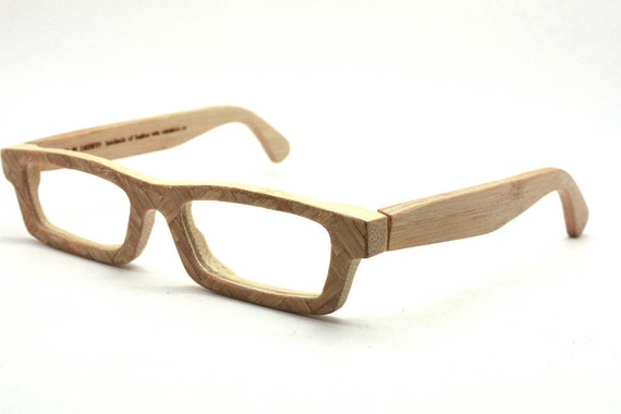 New works handmade  bamboo weaving  eyeglasses glasses frame LOVE-BAMBOO C01-A