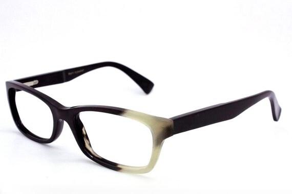 handmade  Ox horn   eyeglasses glasses frame 01