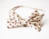 bow headband / vintage inspired, gossip girl