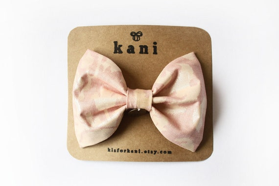 pink sorbet deluxe bow clip