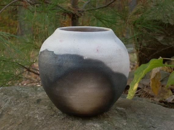 Pit Fired Pot, decorative; unique pottery