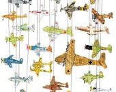 Planes of World War II giclee print