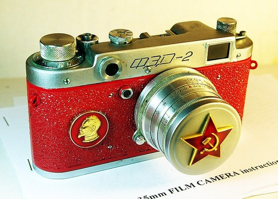 1955 Red Star FED-2 camera rare RUSSIAN LEICA  -from RussianVintage