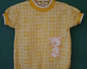 Yellow Teddy Health-tex Romper, 12 Months