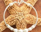 Love is in the Air Wedding Sterling Silver Swarovski Pearl Bracelet