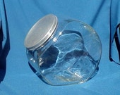 Vintage Counter Candy Jar Glass
