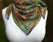 RESERVED - Seed Stitch Shawlette - Medley 1