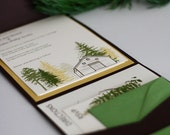 Into the Trees - Printable Wedding Invitation - The Essentials