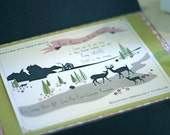 A Woodland Tail - Printable Wedding Invitation