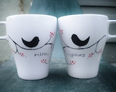 Mine & Yours Matching Cup Set ... FREE SHIPPING in CANADA