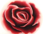 Polymer Clay Red Rose Romantic Cane - by TovArt Creations