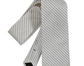 Stitch Stripe Narrow Tie