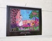 2011 Wall Calendar, Girls in Garden by Emily Bieman