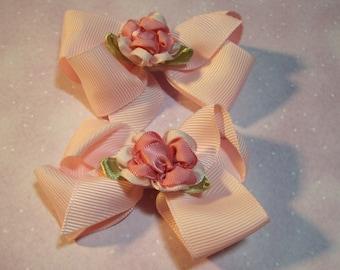Little Flower Pink Bows