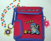 Upcycled Pokemon Purse/Game Carrying Case
