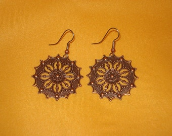 How big do you like your copper earrings (Style #448)