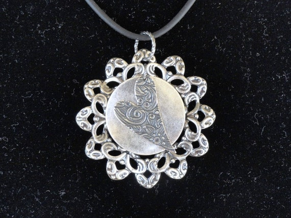 Close to my Silver Heart pendant (Style #1259)