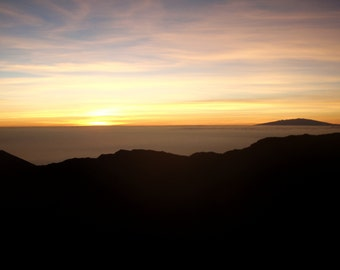 Sunrise, Above the Clouds