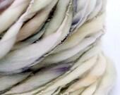 Powder Puff 2 - Single Ply Merino Handspun Yarn 74yards