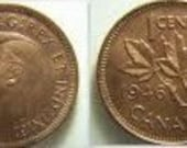 1946 Canadian 1 Cent