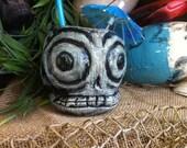 Dia De Los Muertos Skull Mug by Tiki tOny