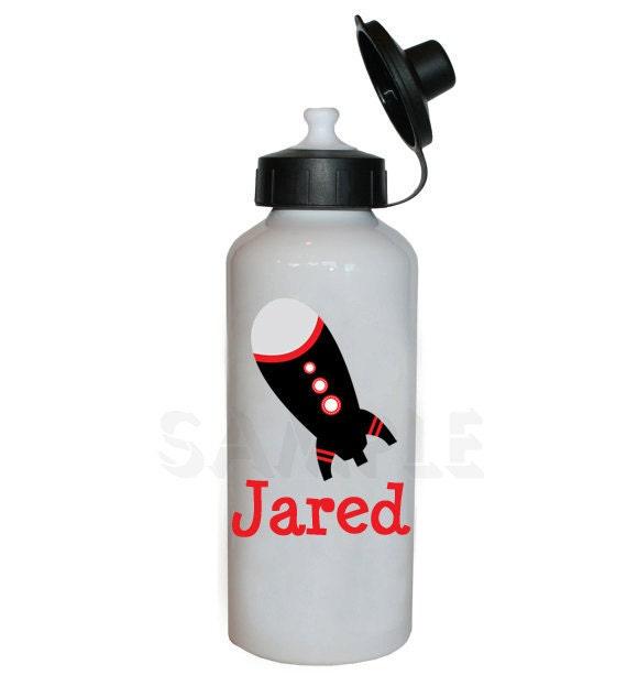 1 Liter Bottle Water Rocket: Rocket Ship Water Bottle Rocket Ship Personalized Water Bottle