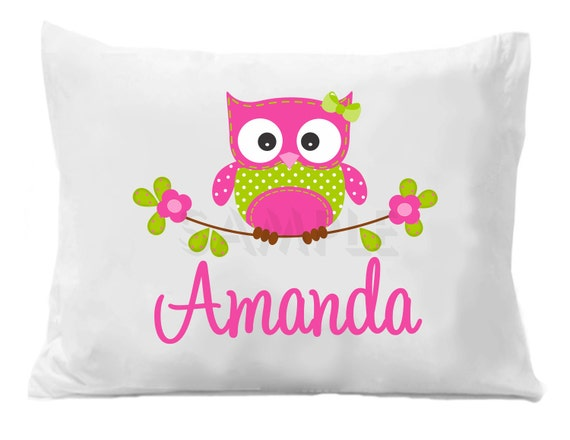 Owl Pillow Case Owl Pillow Case