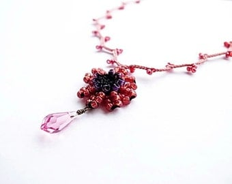 Crochet Lace Jewelry-Chic I-Necklace